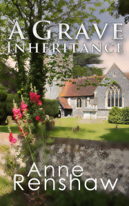 Book jacket of A Grave Inheritance by Anne Renshaw