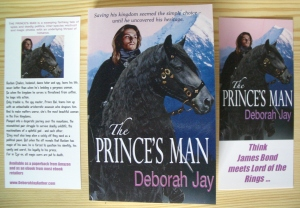 Bookmark for The Prince's Man by Deborah Jay
