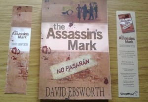 Copy of The Assassin's Mark with matching bookmarks