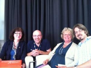 Interview panel at Cheltenham