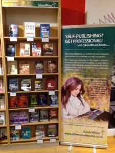 SilverWood Books on sale in Foyles, Bristol