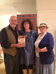 David Ebsworth, Debbie Young & Helen Hollick at Foyles