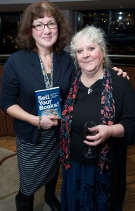 Helen Hollick and Debbie Young at the launch of Sell Your Books!