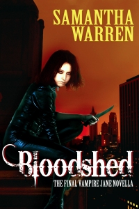 Cover of Bloodshed by Samantha Warren
