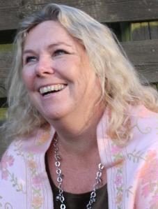 Head shot of Anna Belfrage