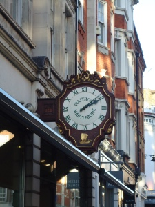 Photo of large ornate outdoor clock