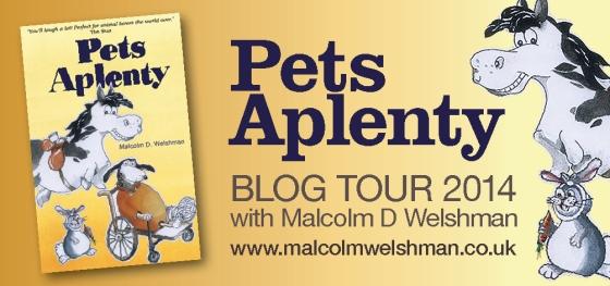 Pets Aplenty blog tour  banner