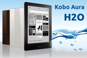 Kobo Aura H2O photo